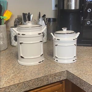 American Atelier Ceramic Canister (TWO)